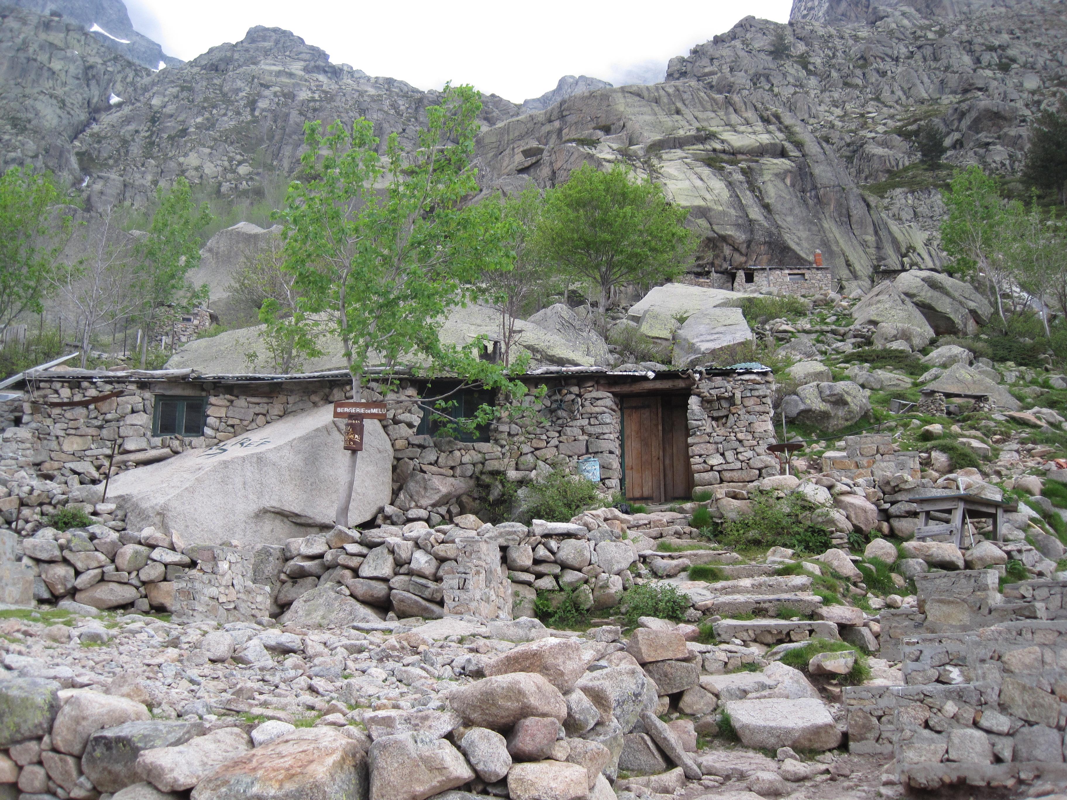 File Mountain Cabin Near Corte Corsica