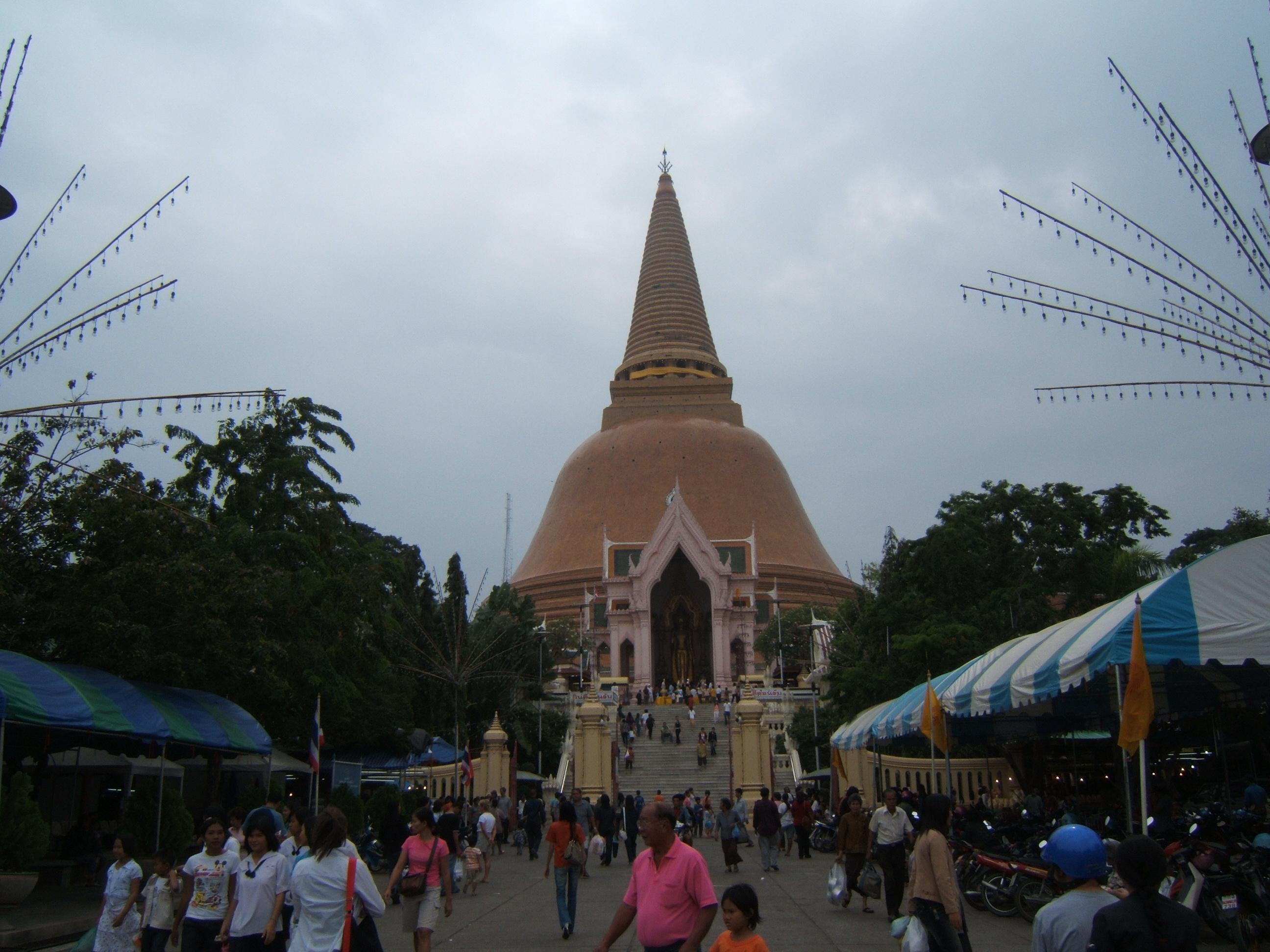 Nakhon Pathom Thailand  City pictures : Description Nakhon Pathom Chedi