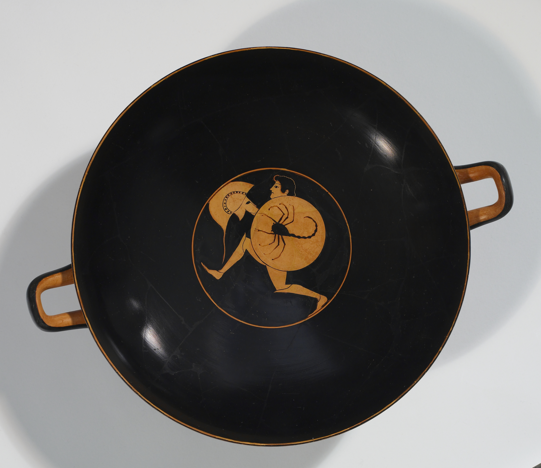 File Nikosthenes Painter Red Figure Kylix With Running