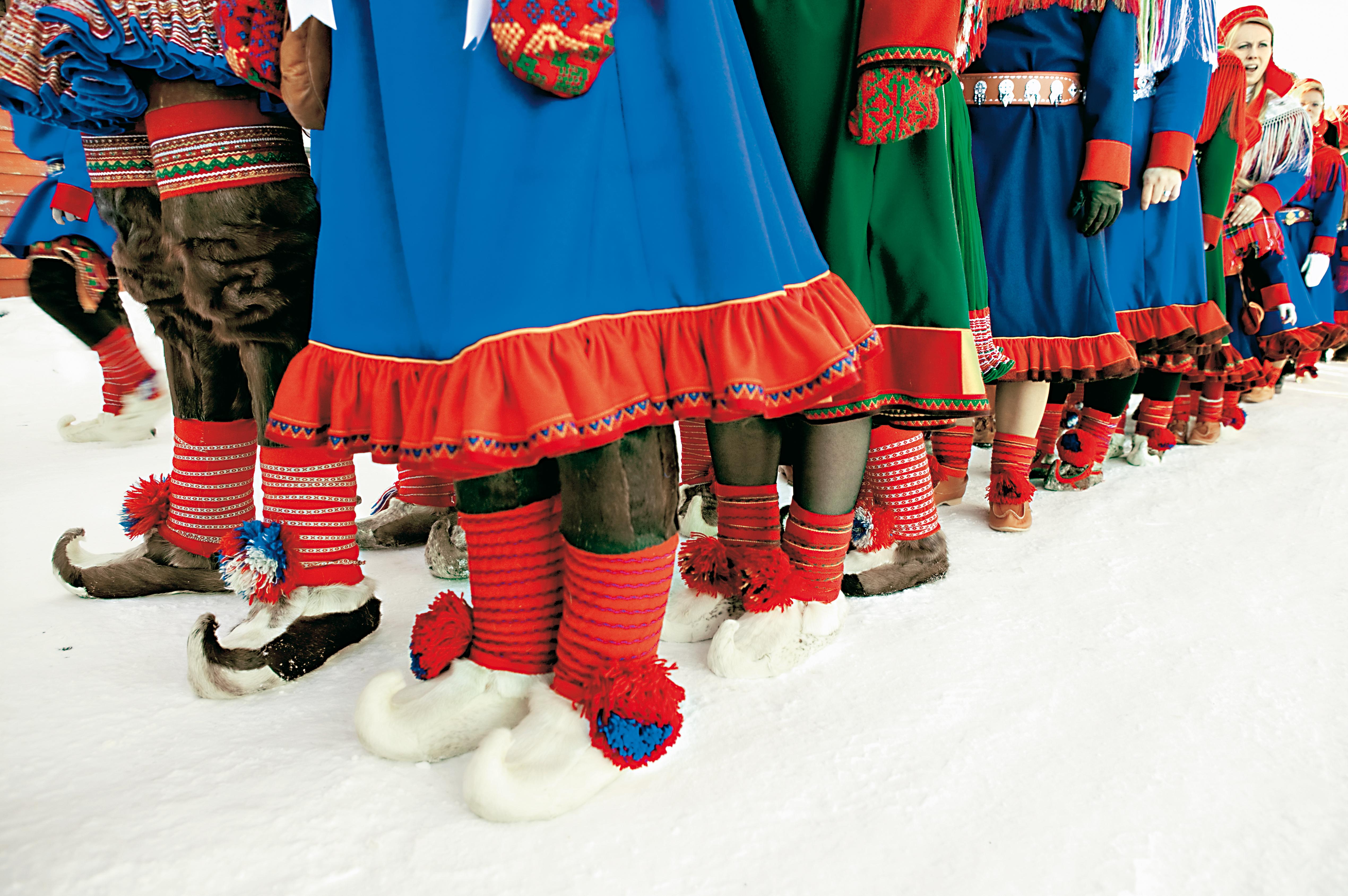 Samisk bröllopsprocession