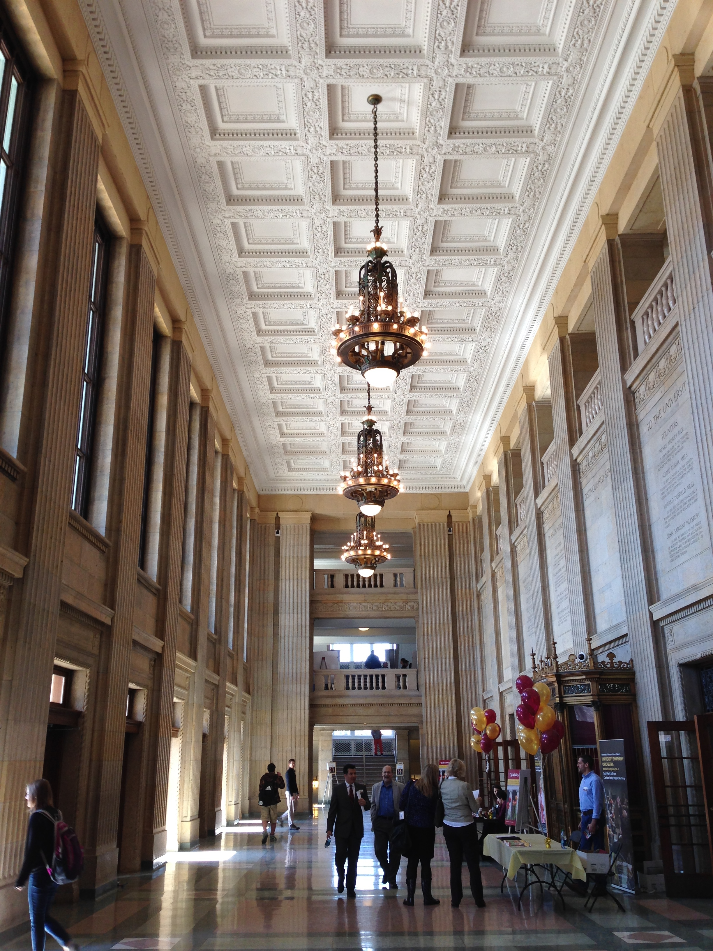 Foyer And Entryways University : File northrop university of minnesota entrance hall g