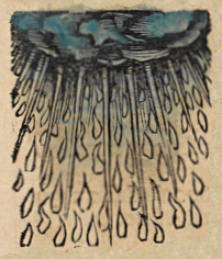 Rain, depicted in the 1493 Nuremberg Chronicle Nuremberg Chronicle f 029r 2.png
