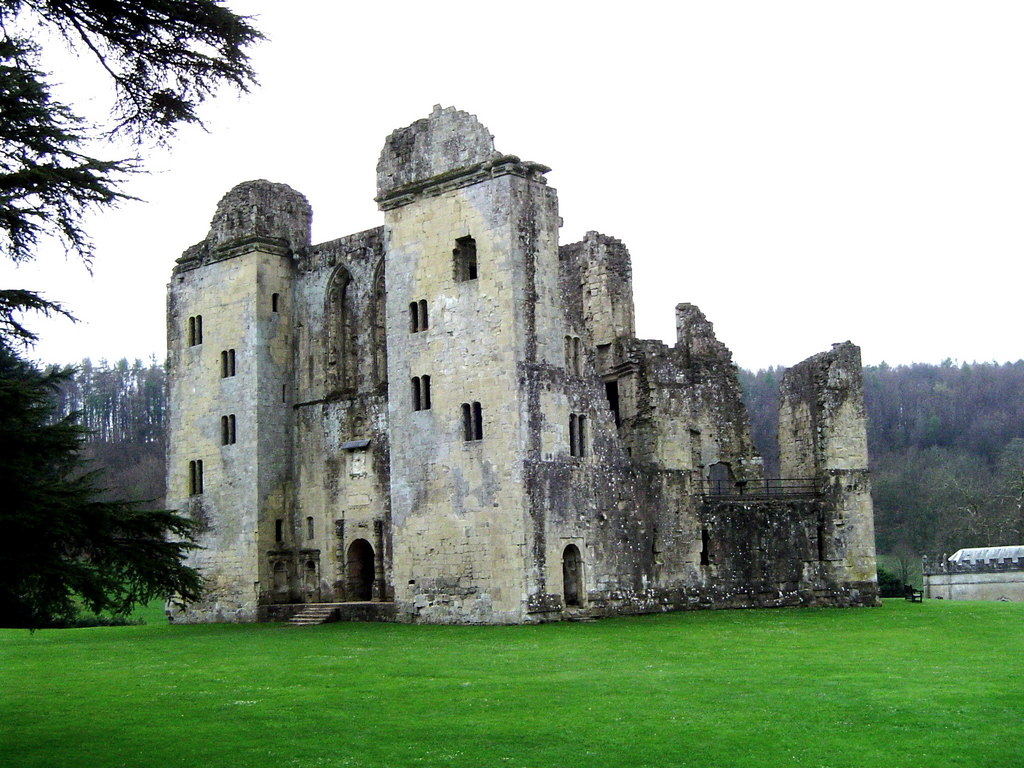 File:Old Wardour Castle, Wiltshire - geograph.org.uk ...
