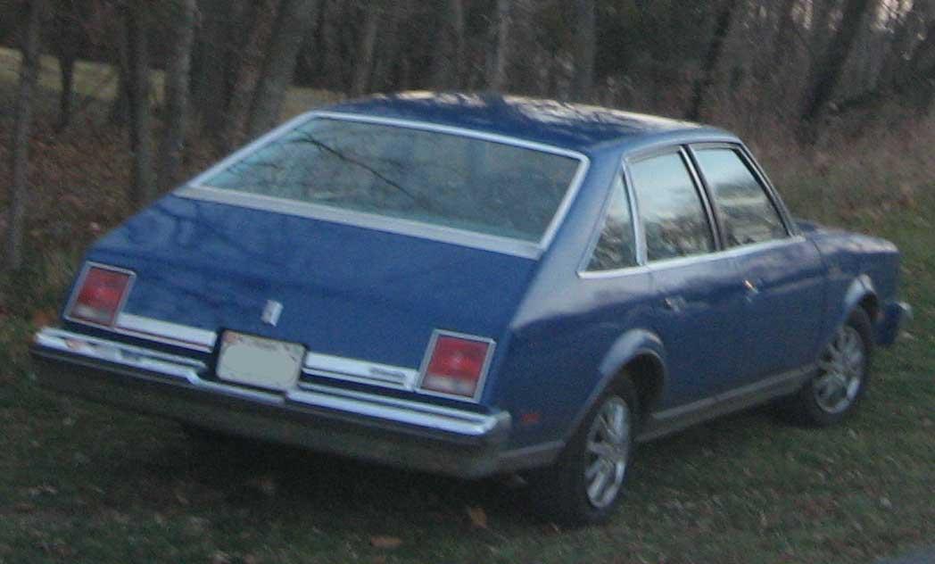 Oldsmobile cutlass salon rearjpg wikimedia commons picture for 1979 oldsmobile cutlass salon