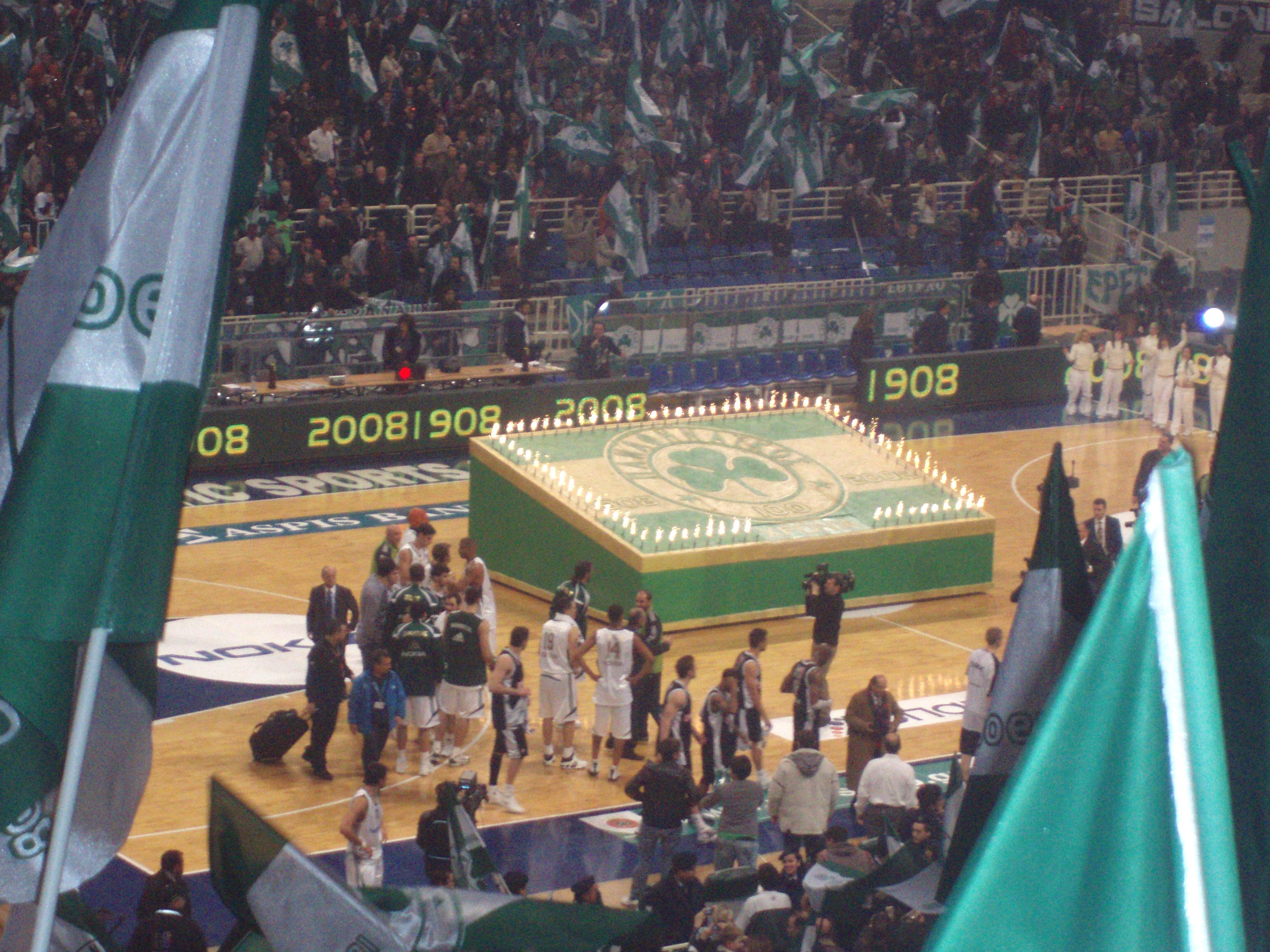 The 100 years celebration 1908 2008