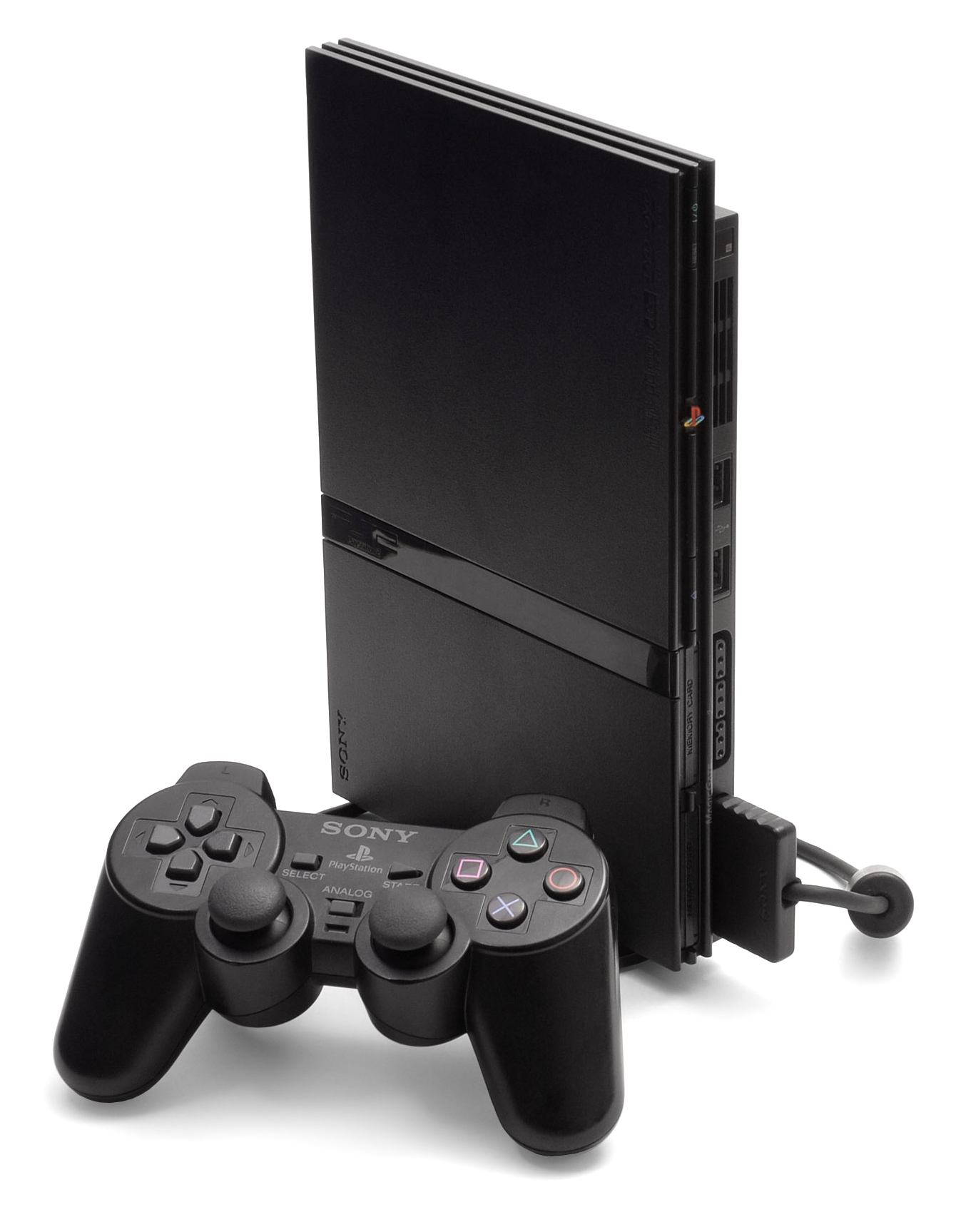 sony playstation 2 slim. file:ps2-slim-console.png sony playstation 2 slim h