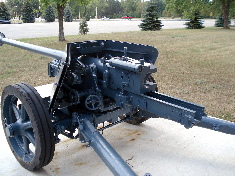 German 50 Mm Anti Tank Gun: File:Pak40 Cfb Borden 2006 3.jpg