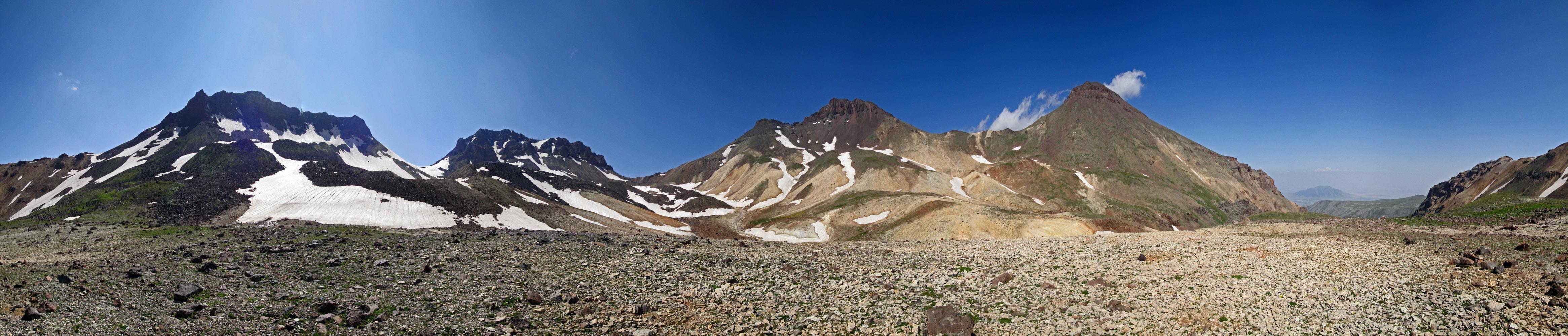 Peaks of Aragats