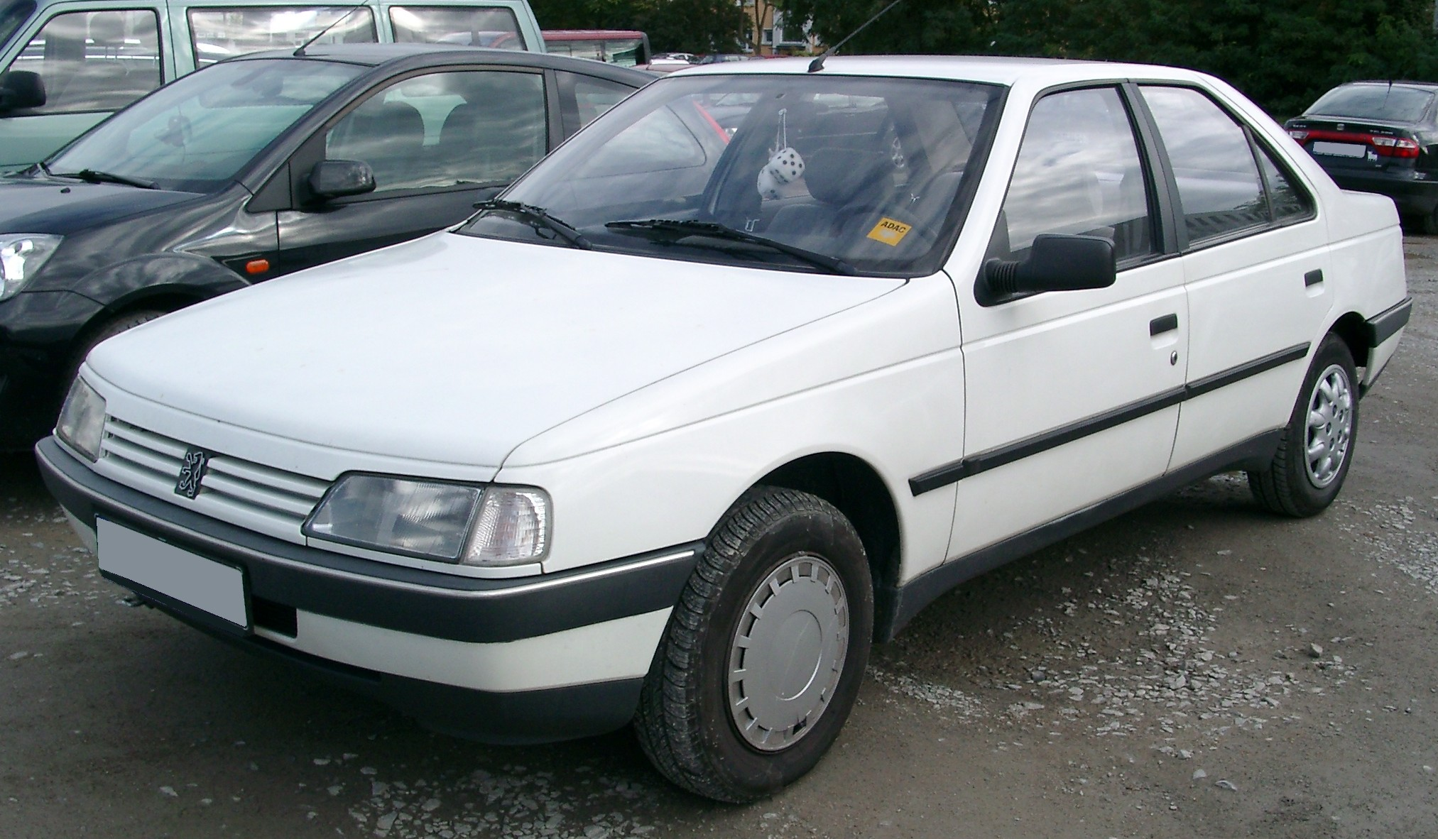 Descripción Peugeot 405 front 20070926.jpg