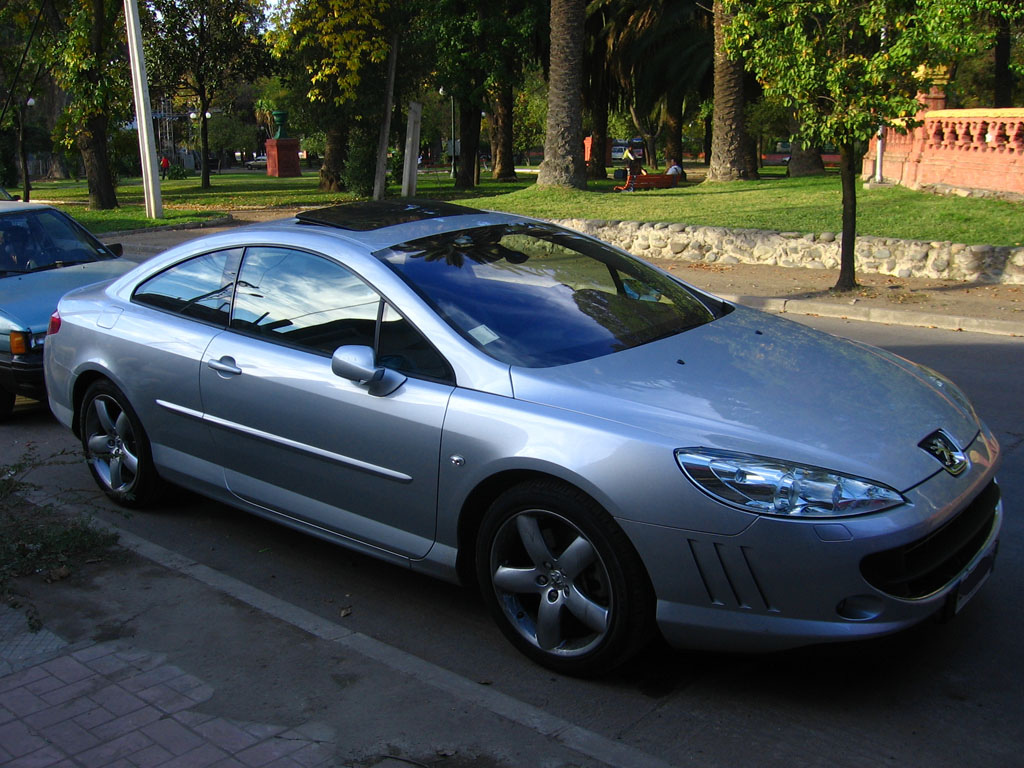 File:Peugeot 407 Coupe 2008.jpg - Wikimedia Commons