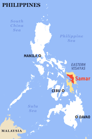 Ph locator map samar (white).png