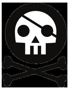 150px סמליל מפלגת הפיראטים