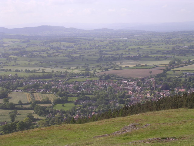 Pontesbury from Earl's Hill - geograph.org.uk - 1096134