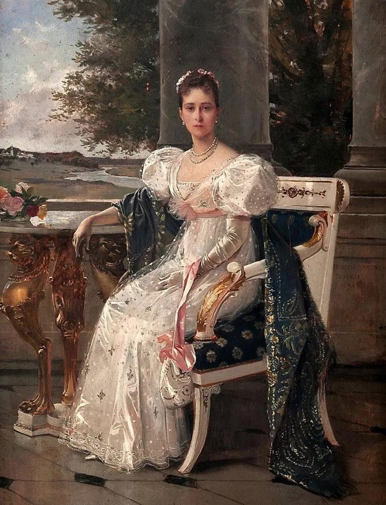 Портрет Великой княгини Елизаветы Федоровны кисти Франсуа Flameng.jpg