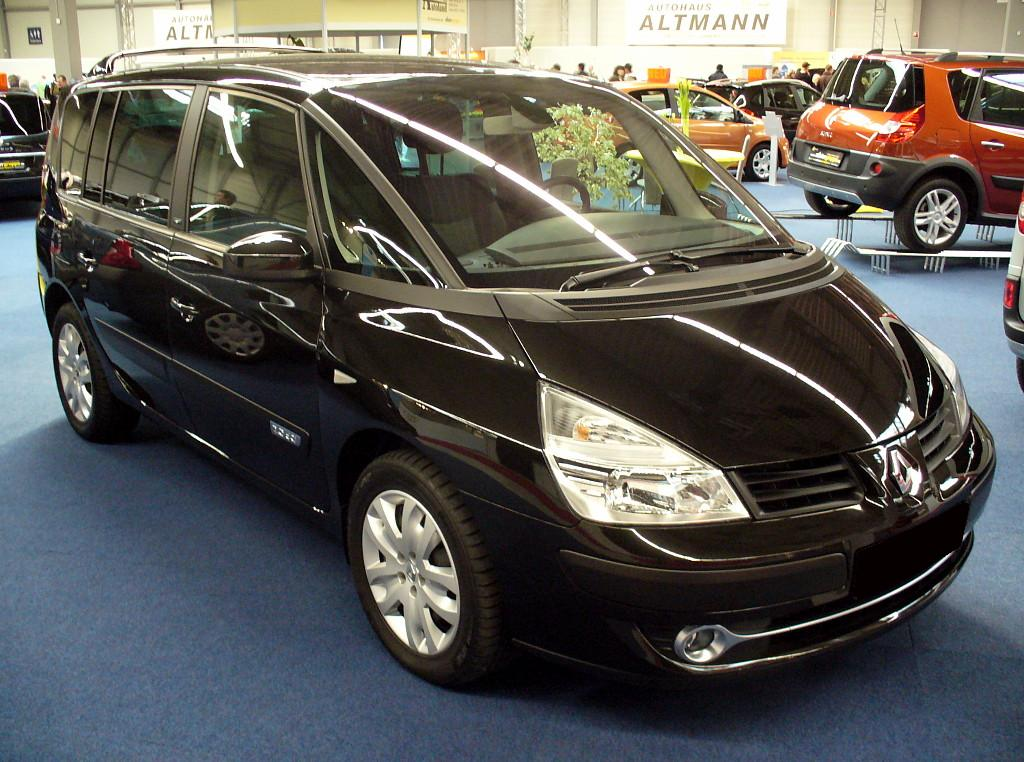 file renault espace iv phase ii 2 2 dci jpg wikimedia commons. Black Bedroom Furniture Sets. Home Design Ideas