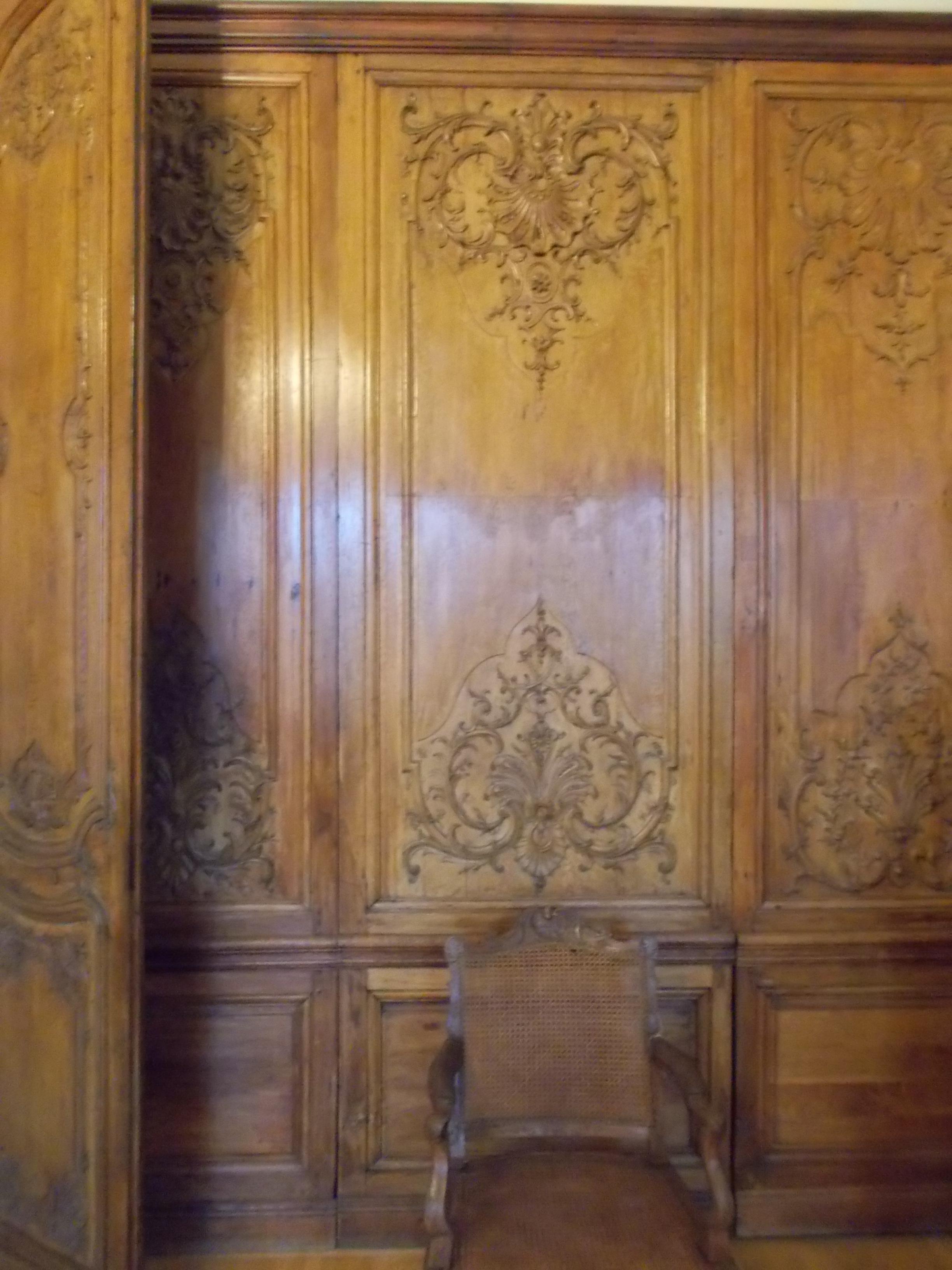 Old Wood Wall Paneling