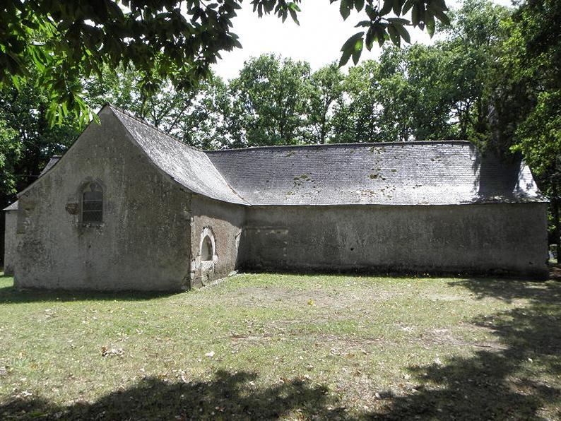 Chapelle Saint-Jean-d'Apileur à Sainte-Marie (Ille-et-Vilaine, Bretagne, France).