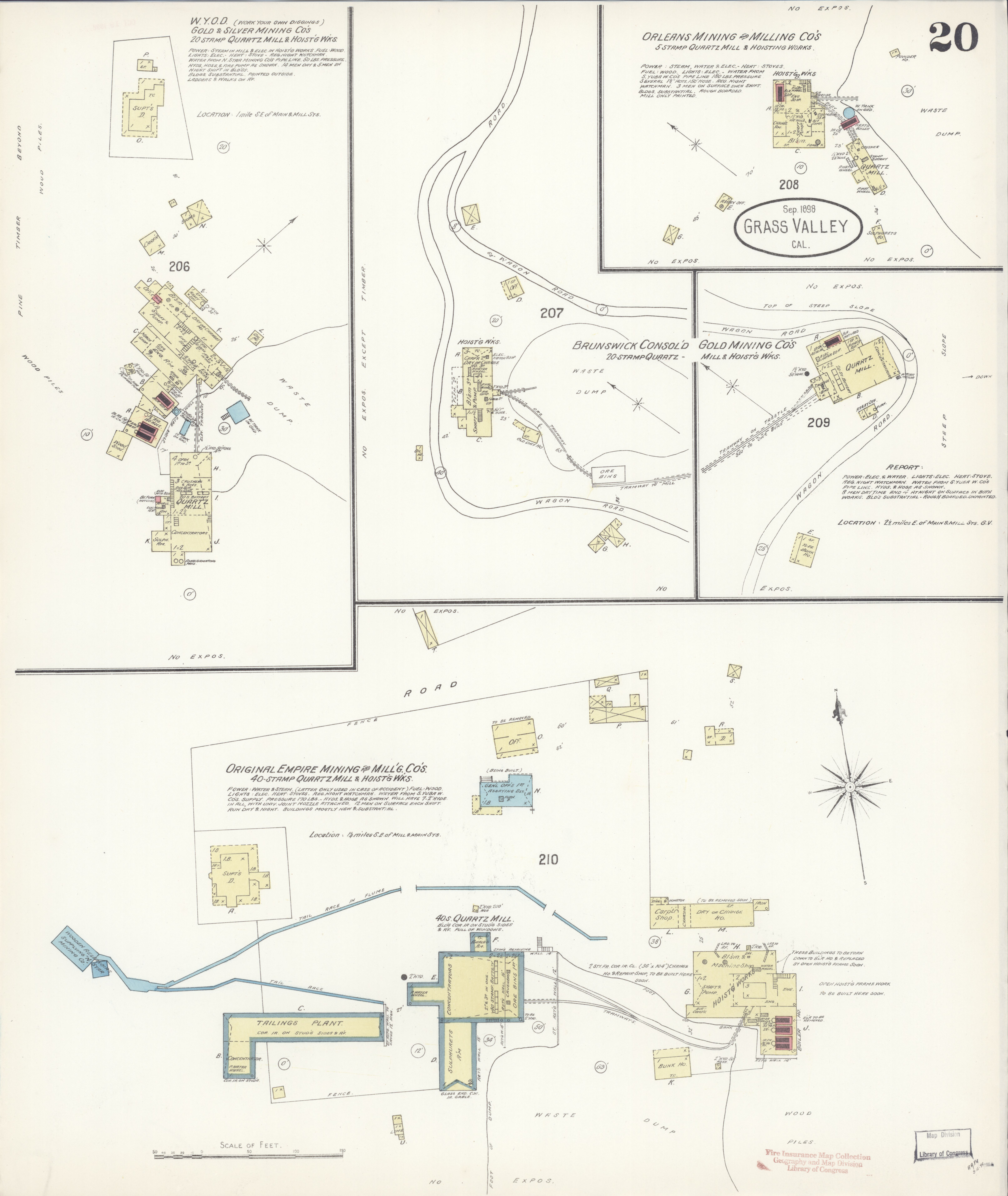 File:Sanborn Fire Insurance Map from Grass Valley, Nevada ...