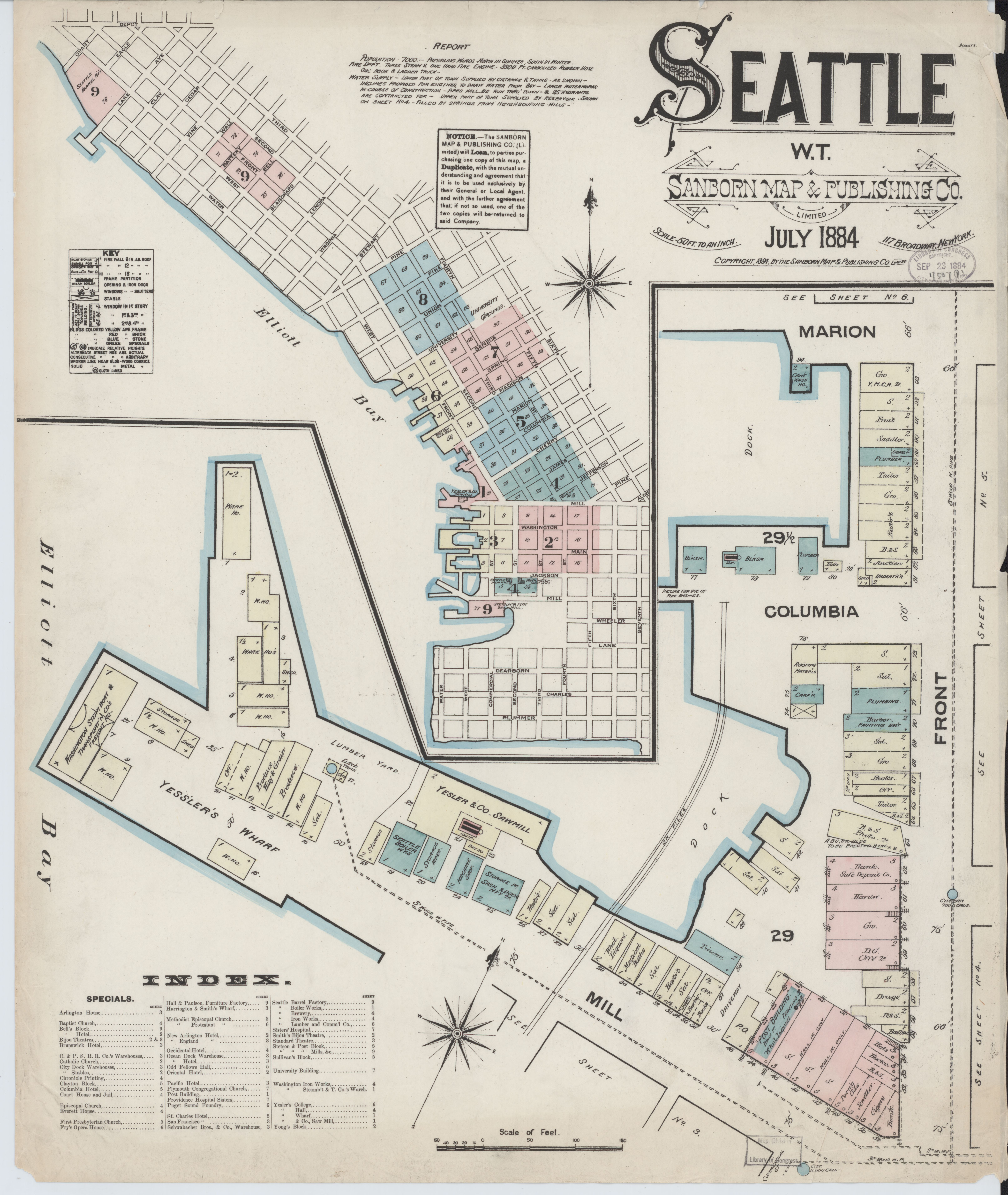 File:Sanborn Fire Insurance Map from Seattle, King County ... on tahoma washington map, city of richland washington map, rattlesnake ridge washington map, kittitas county washington map, seattle washington map, belltown washington map, nisqually river washington map, los angeles with zip codes map, elliott bay washington map, king fire map, quinault river washington map, north cascades national park washington map, pine lake washington map, interstate 405 washington map, garfield county washington map, pierce county washington map, bellevue washington map, beacon hill washington map, tacoma washington map, island county washington map,