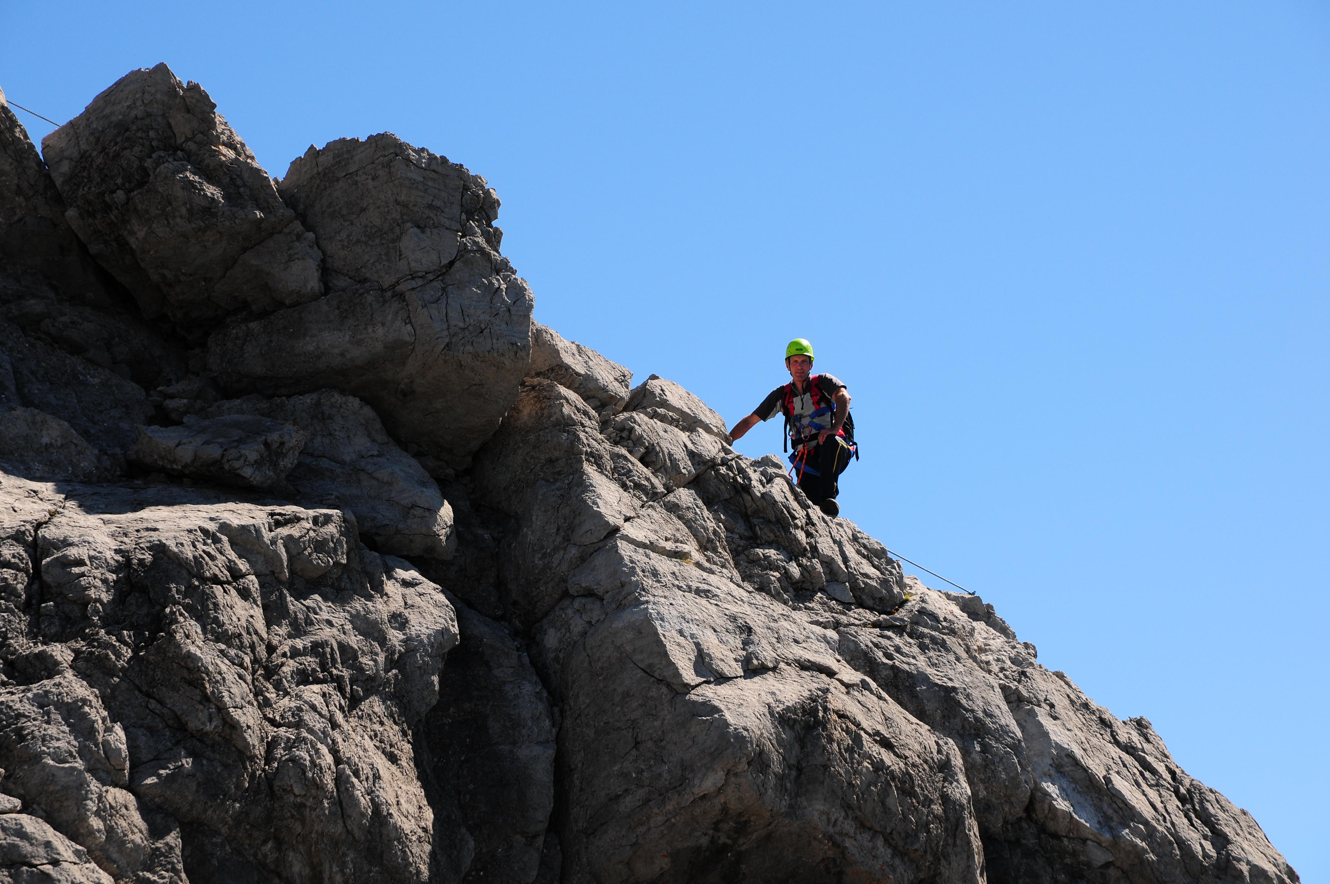Klettersteig Saulakopf : File saulakopf klettersteig g wikimedia commons