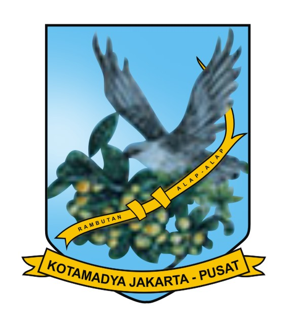 File Seal Of Central Jakarta Jpg Wikimedia Commons