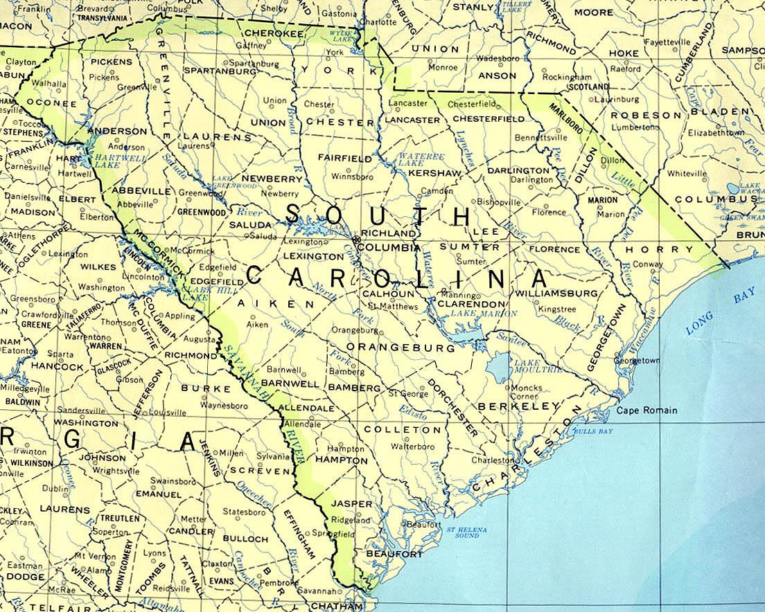 Carolina del sud nella guerra di secessione americana for Casa di piantagioni del sud