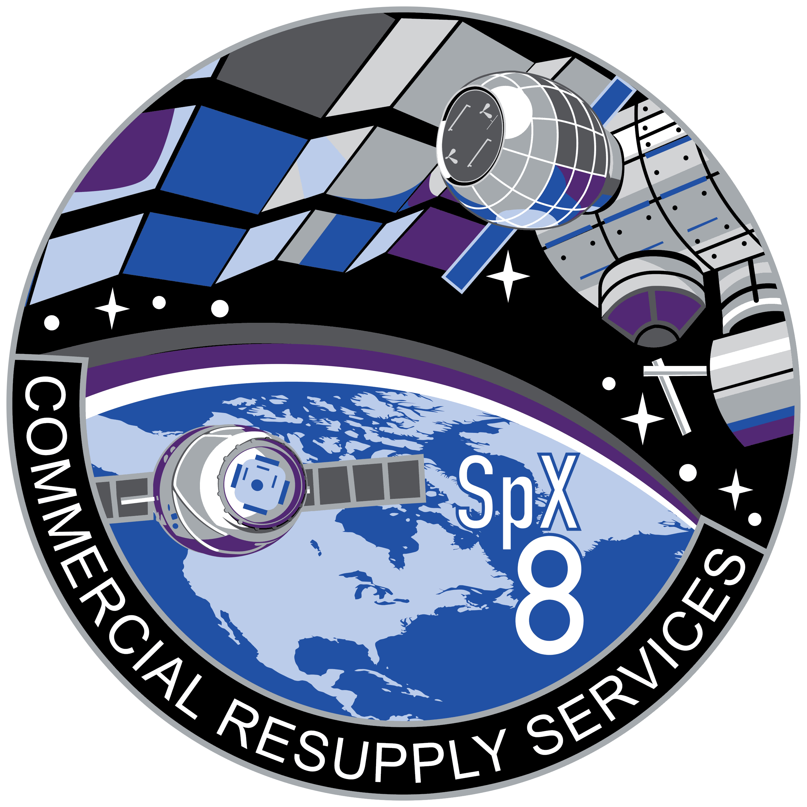 Dragon Spacecraft patch