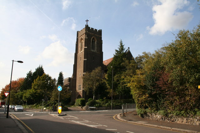 St. Andrew's Church, Coulsdon, Surrey - geograph.org.uk - 587889