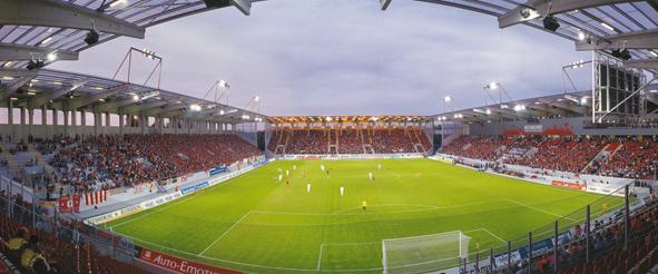 Stadioneröffnung am 29. Juni 2012