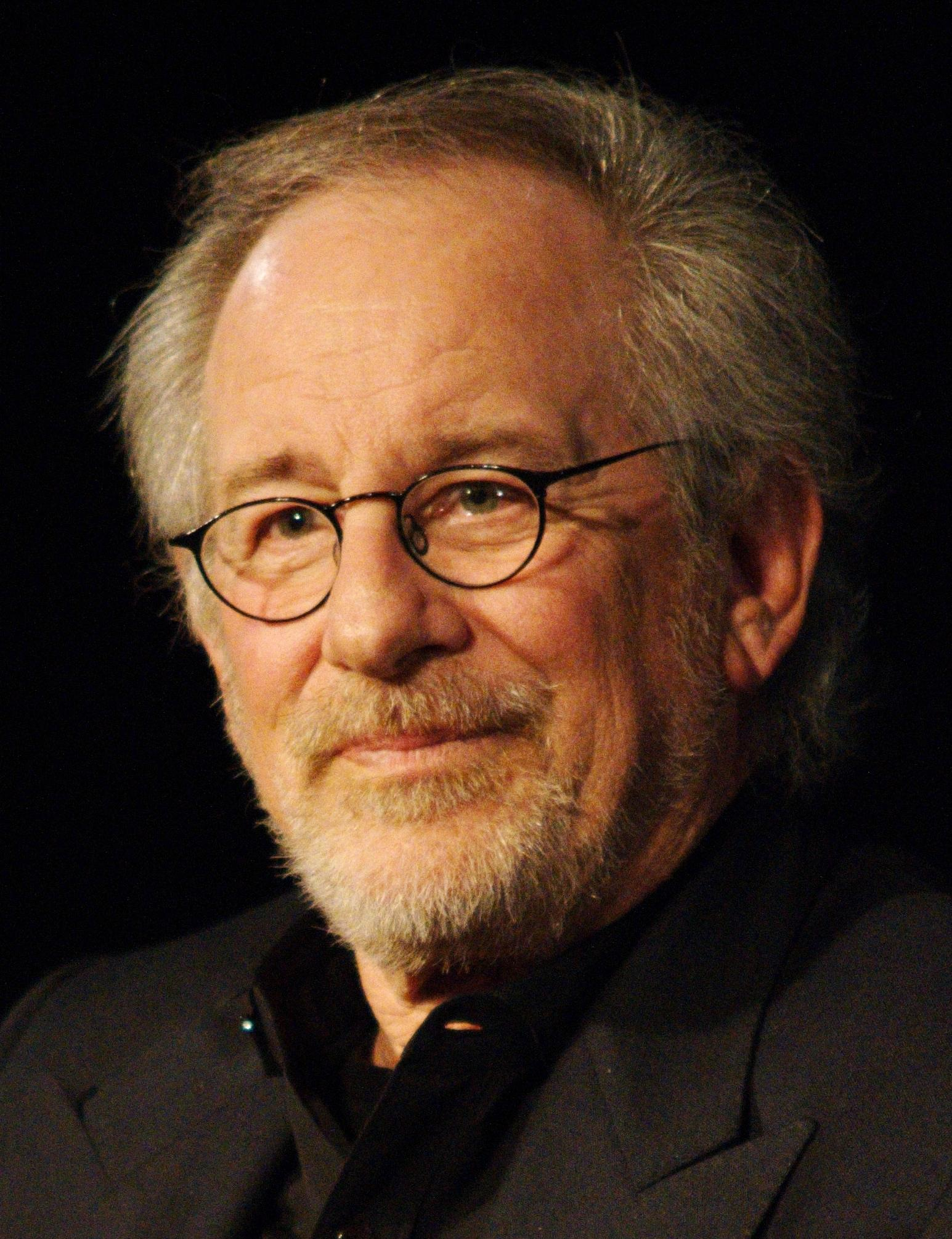 Spielberg at his masterclass at the [[Cinémathèque Française]] in January 2012