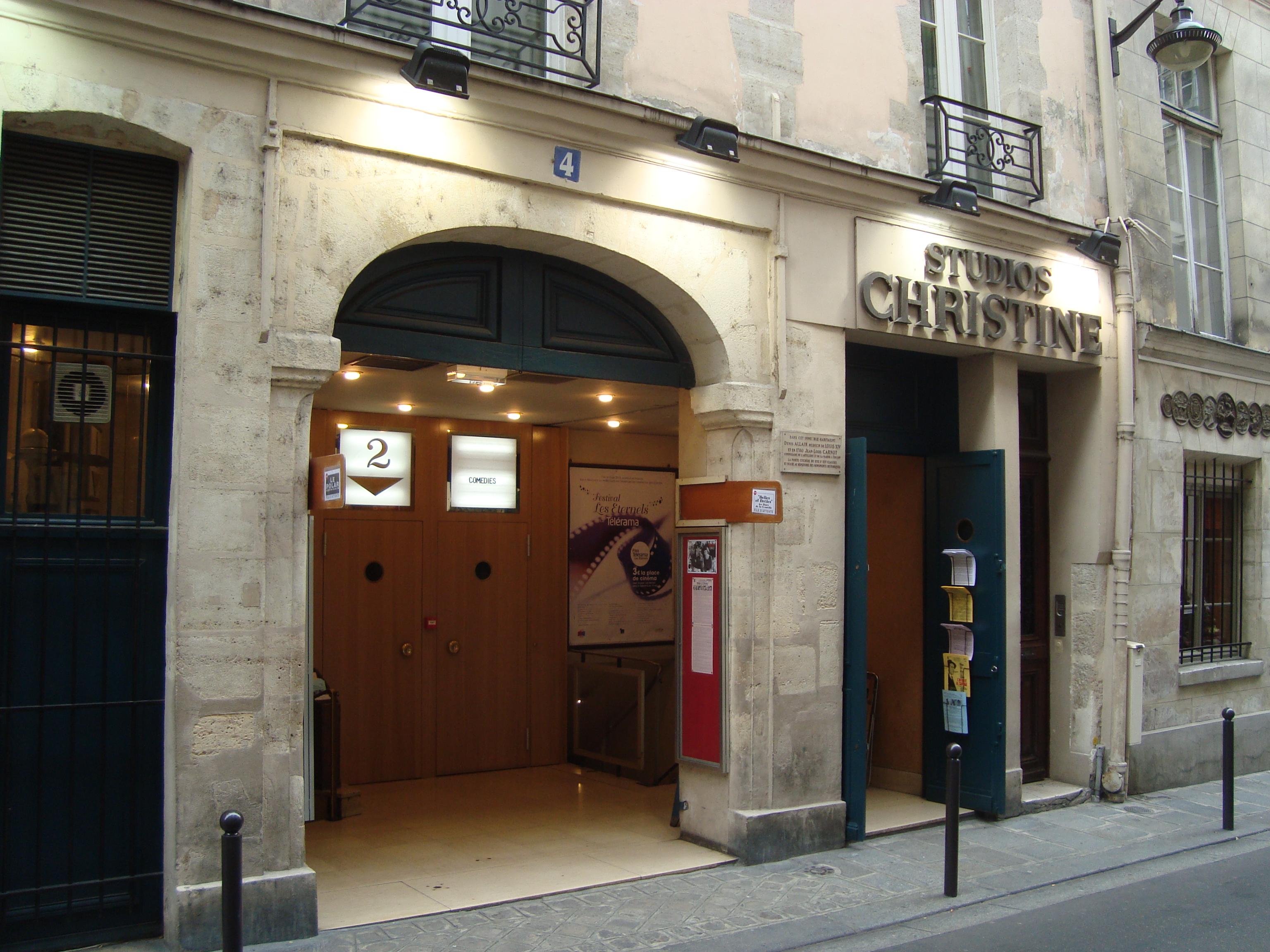 Christine Cinéma Club — Wikipédia