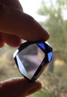 The cubic zirconium replica of the French Blue...