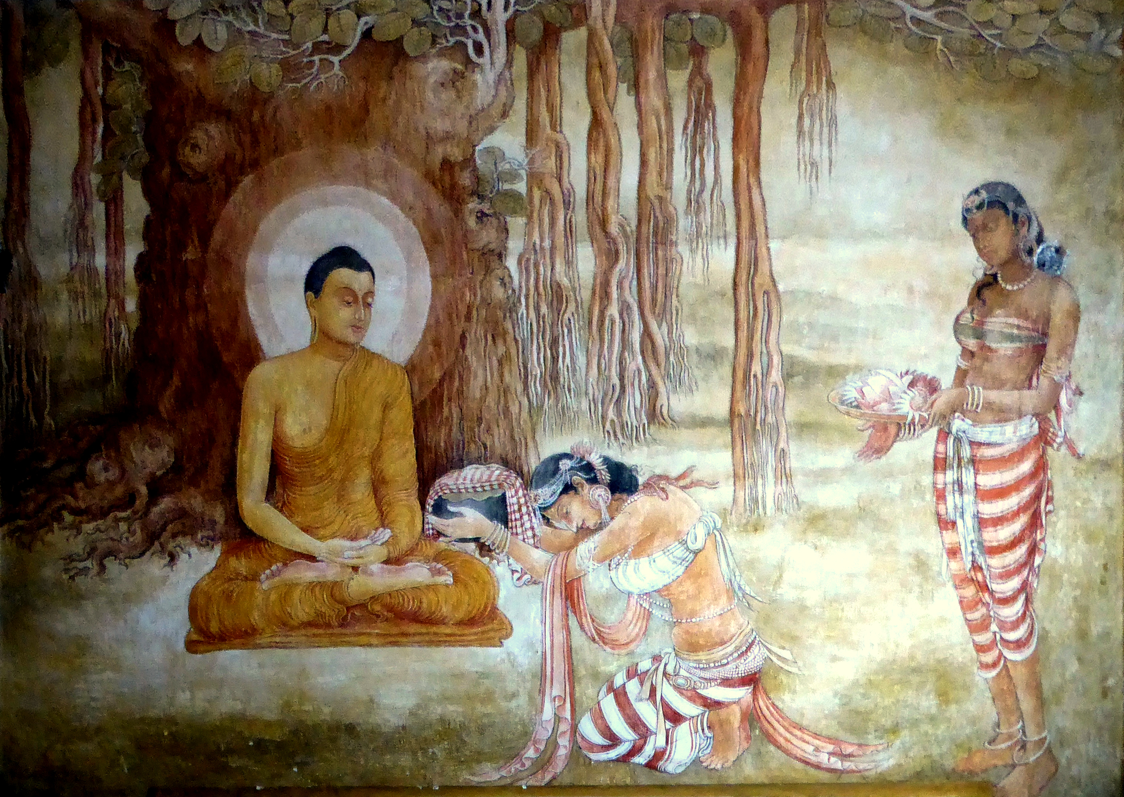 Sujata and the Buddha