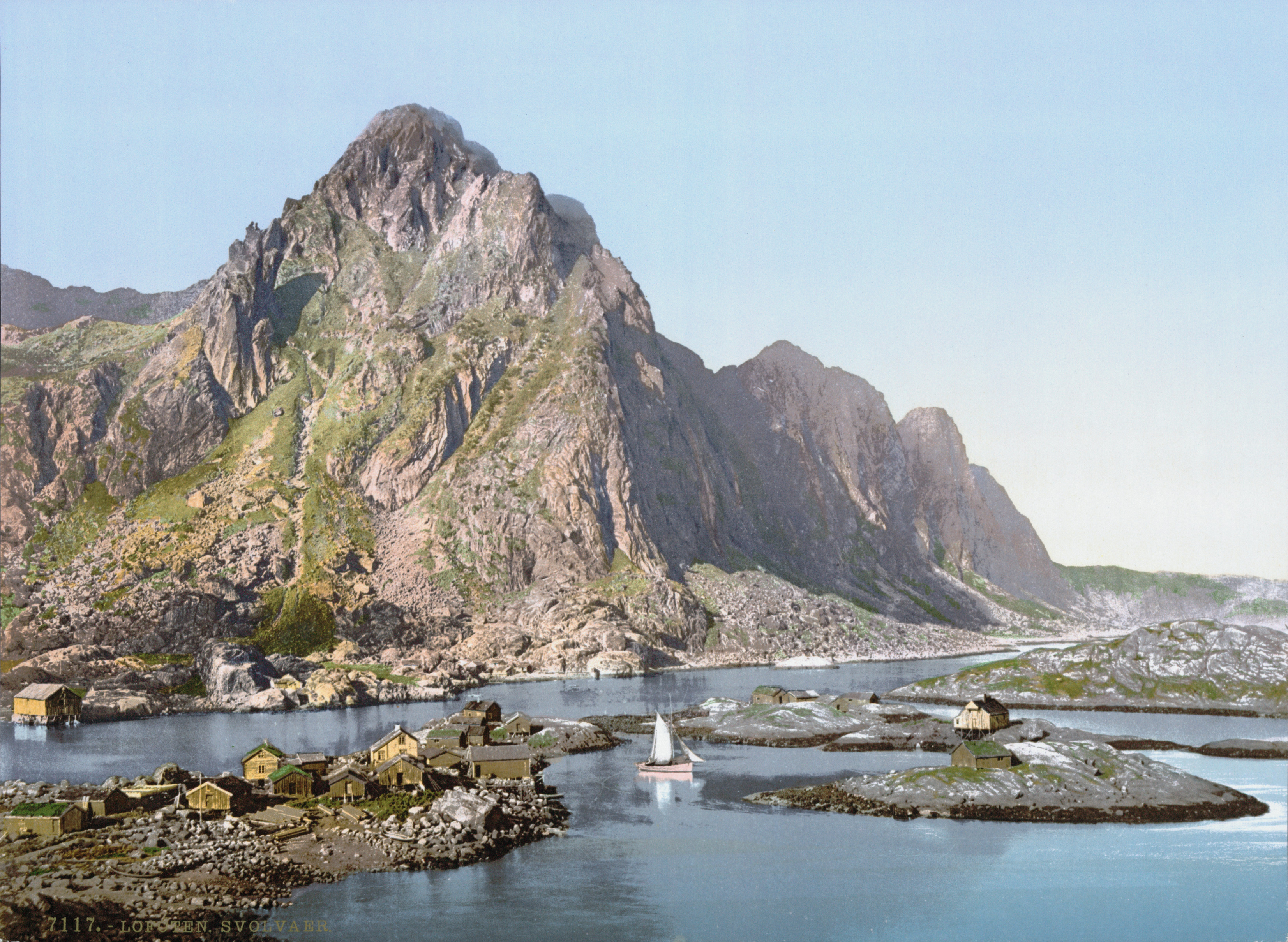 Svolvaer Norway  city pictures gallery : Svolvær Photochrom LOC Wikimedia Commons
