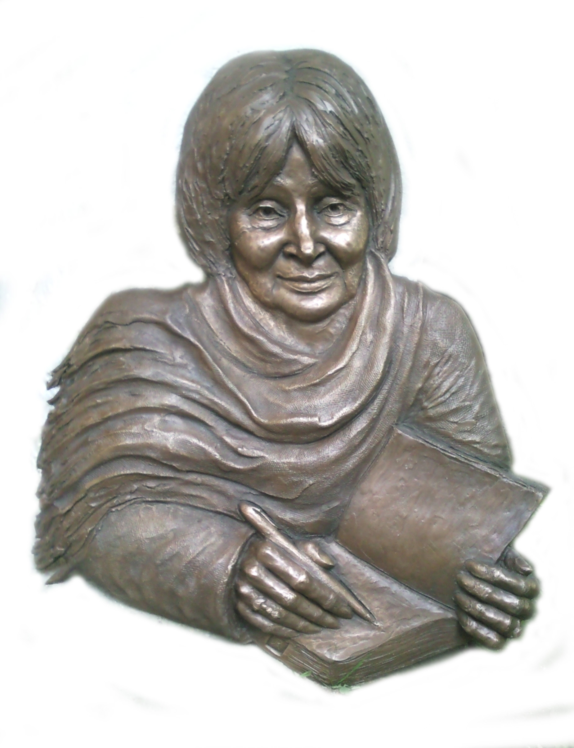 File:Szabó Magda bronz dombormű.jpg - Wikimedia Commons