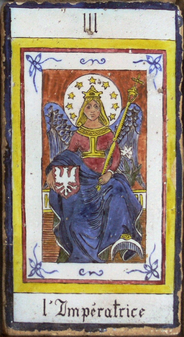 The Empress And Death Antique Tarot Cards: File:The Empress.jpg