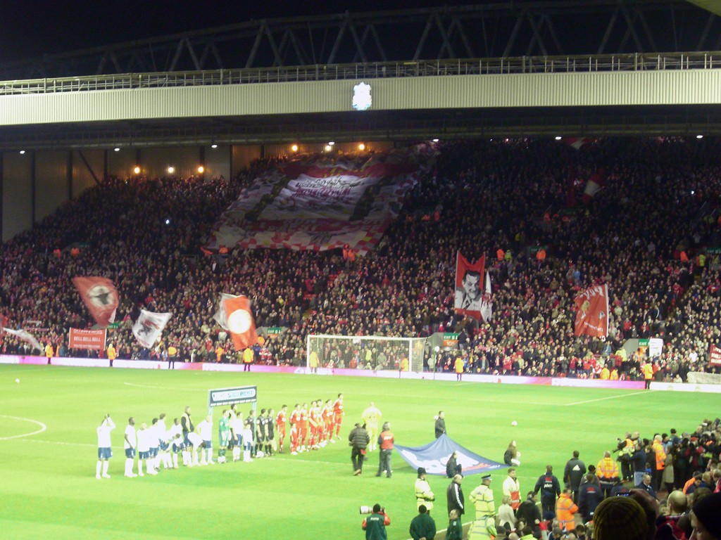 The Kop Kop Stand Anfield
