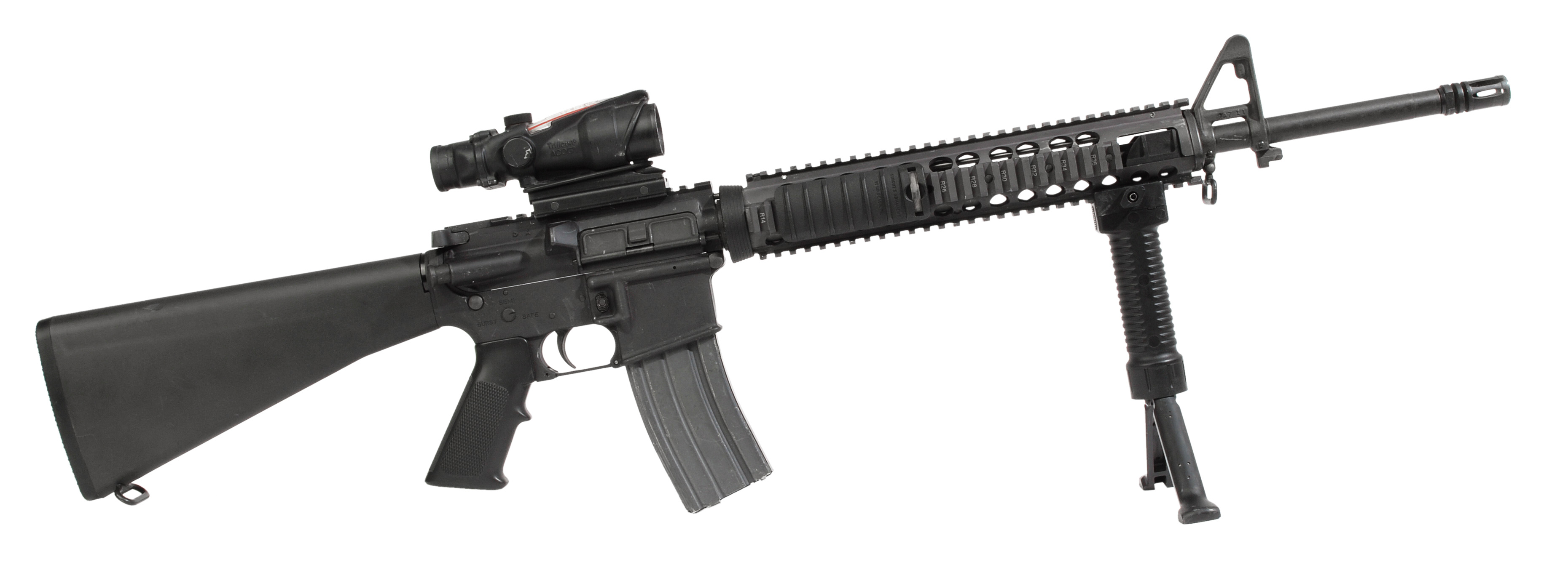 file the m16a4 series 5 56mm rifle jpg wikimedia commons