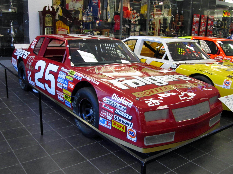 Tim Richmond Hendrick Motorsports Chevrolet on display.jpg