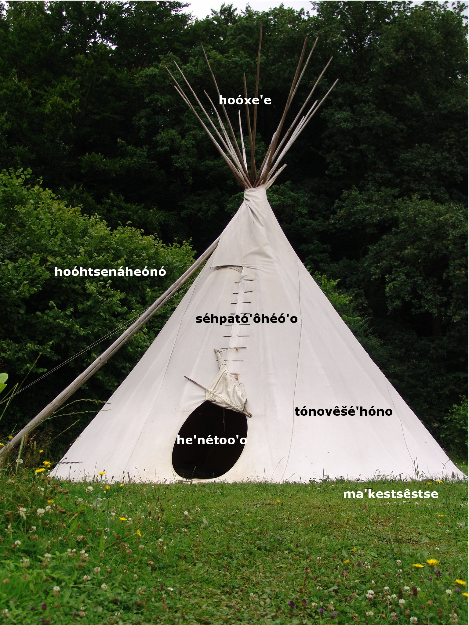 file tipi parts cheyenne jpg wikimedia commons. Black Bedroom Furniture Sets. Home Design Ideas