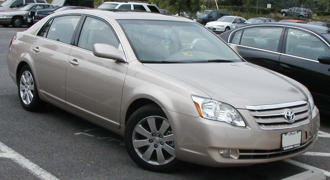 File Toyota Avalon 4 Jpg Wikimedia Commons