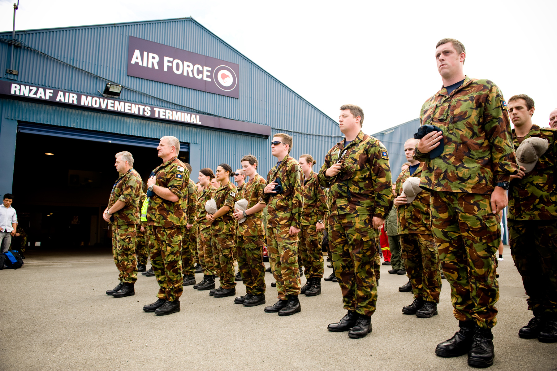 air force 1 army camo nz