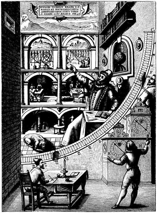 Tycho Brahes in his Laboratory