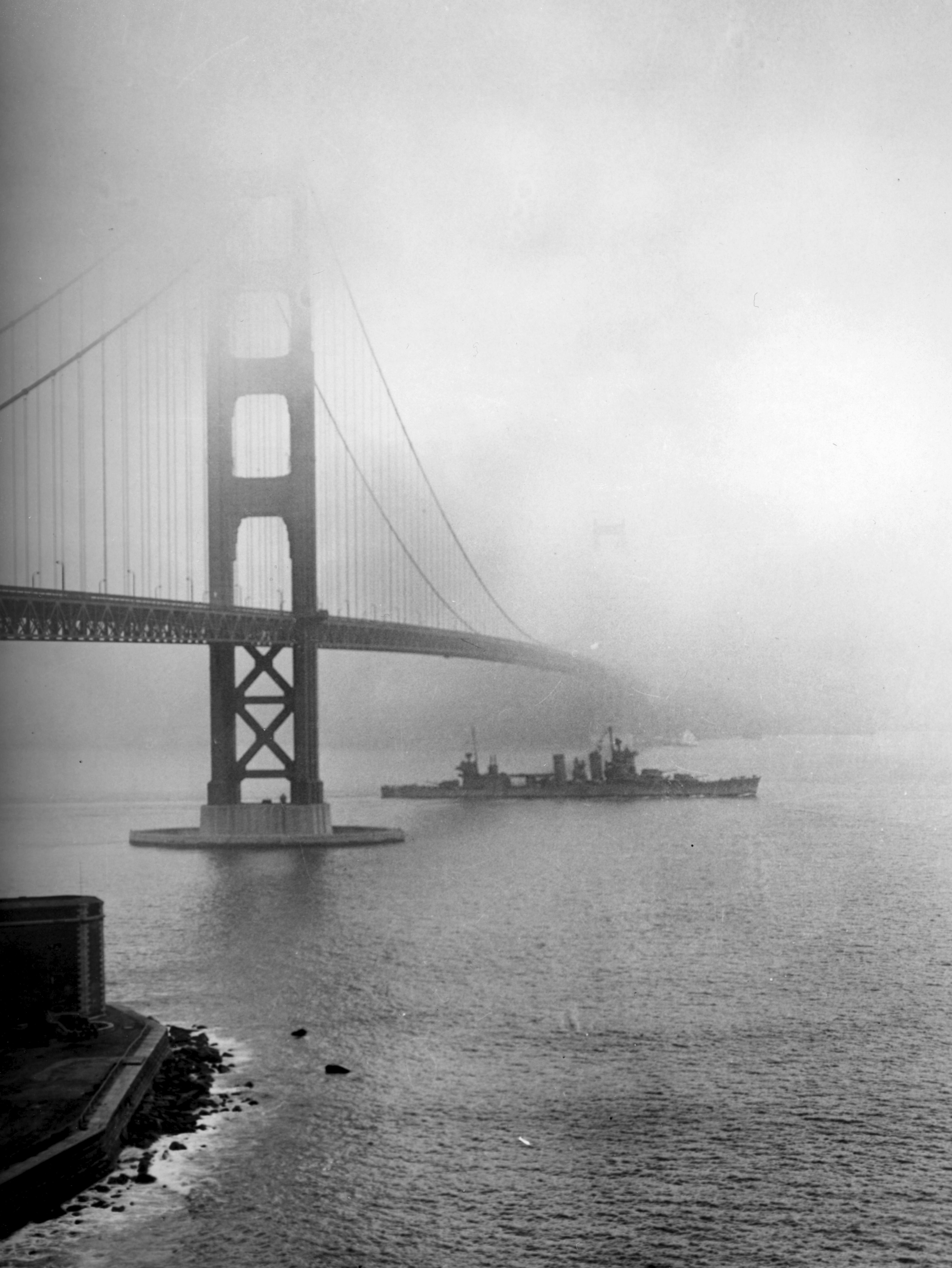 Imagen del puente de San Francisco en la época donde tiene marco la historia.