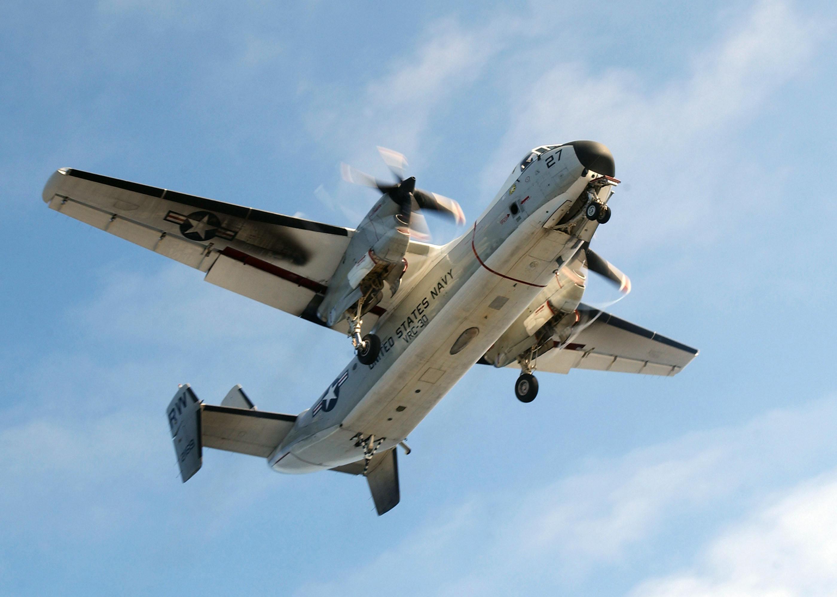 C 2a Greyhound Logistics Aircraft -001 A C-2A Greyhound ...
