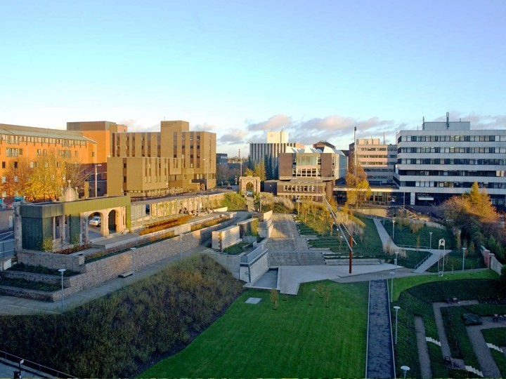 The University of Strathclyde campus