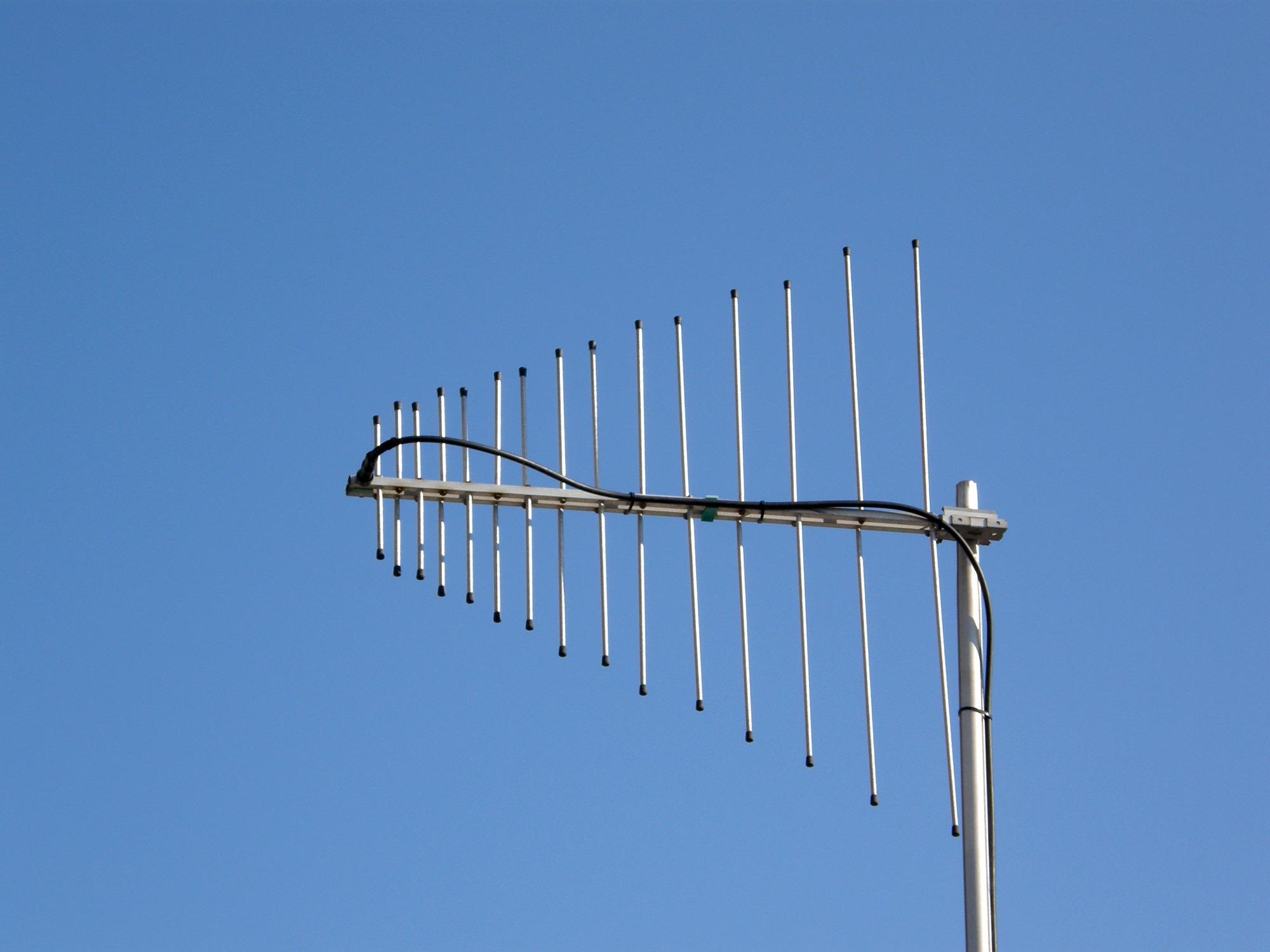 Антенна телевизионная метрового диапазона