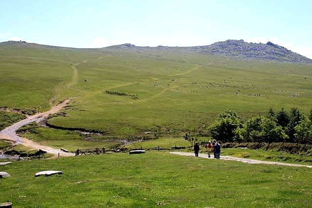 Valley bottom north of Roughtor - geograph.org.uk - 840643