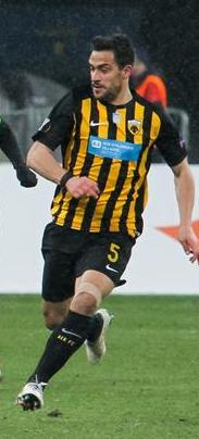 Lampropoulos with [[AEK Athens F.C.|AEK]] in 2018