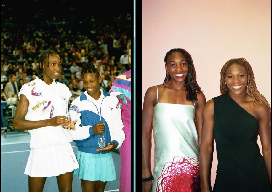 Venus and Serena 1993 and 2001.jpg